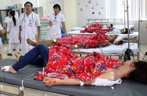 Sét đánh thương vong 6 người ở Quảng Ninh