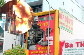 TP.HCM: Cháy lớn lúc rạng sáng ở cửa hàng bếp từ, 4 người chết thảm đều dưới 25 tuổi