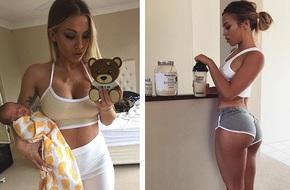 Cô gái 'siêu vòng 3' trở thành bà mẹ nóng bỏng nhất Instagram