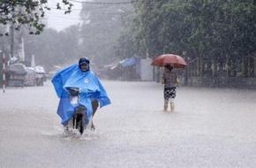 Miền Bắc mưa to kéo dài trong 5 ngày kể từ chiều tối 13/8, nguy cơ lũ và ngập