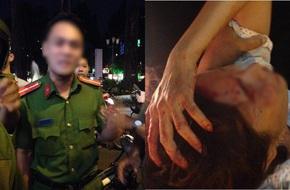 Tạm đình chỉ công an nắm tóc người bán hàng rong ở trung tâm Sài Gòn