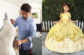 Ông bố tuyệt nhất quả đất, biến ước mơ công chúa nữ hoàng của vợ con thành hiện thực