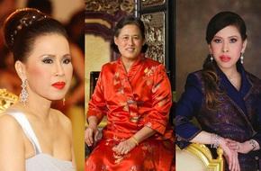 Chân dung 3 công chúa của Quốc vương Thái Lan