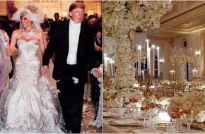 Chùm ảnh: Đám cưới xa hoa của tỷ phú Donald Trump cùng siêu mẫu Melania 11 năm trước