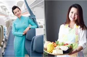 Nữ tiếp viên hàng không xinh đẹp từ bỏ bầu trời và mức lương 40 triệu, mở cửa hàng chay vì con gái