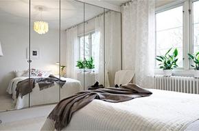Bài trí nội thất phòng ngủ có diện tích 7,8m² cho vợ chồng trẻ