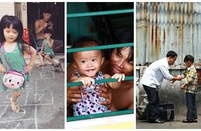 Nao lòng những khuôn hình bình dị tuyệt đẹp về cha và con