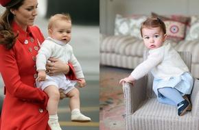 Tiểu công chúa Charlotte gây chú ý khi diện lại đồ của anh trai