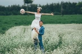 """Chuyện tình 10 năm chưa nói lời yêu của cặp đôi sắm nhẫn cưới trước 5 năm để """"đặt cọc"""""""