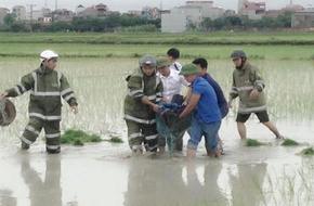 Hà Nội: Người phụ nữ bị sét đánh tử vong đúng lúc trời mưa to