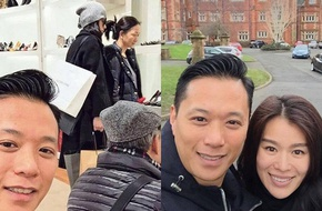 Hồ Hạnh Nhi chu đáo đưa bố mẹ chồng đi mua sắm dịp đầu năm