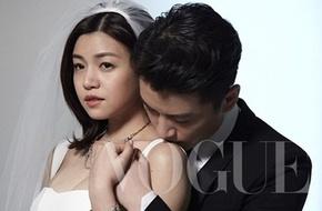 Trần Nghiên Hy làm cô dâu mũm mĩm ở hậu trường chụp ảnh cưới
