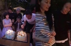 Nồng nàn bên Tạ Đình Phong, Vương Phi vẫn tổ chức sinh nhật cho con gái cùng Lý Á Bằng