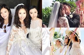 """Những khoảnh khắc kinh điển làm nên đám cưới """"lịch sử"""" của Lâm Tâm Như - Hoắc Kiến Hoa"""