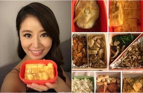 """""""Soi"""" bữa ăn hoành tráng của """"bà bầu"""" Lâm Tâm Như"""
