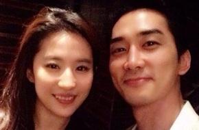 Lưu Diệc Phi sang Hàn chúc mừng sinh nhật Song Seung Hun
