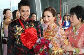 Hoa đán TVB Dương Di đeo vàng trĩu tay trong lễ rước dâu