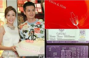 Ngắm thiệp cưới độc lạ của Hoa đán TVB Dương Di và phi công trẻ