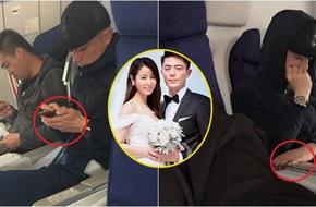Hoắc Kiến Hoa không đeo nhẫn cưới dù mới kết hôn không lâu