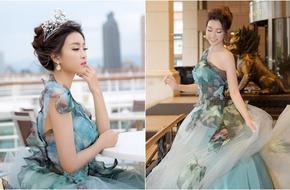 Hoa hậu Mỹ Linh xinh tươi hóa thân thành Công chúa Lọ Lem