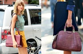 """30 mẫu túi tone đỏ burgundy đẹp """"mê mẩn"""" hợp phong cách Thu"""