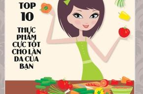 Top 10 thực phẩm cứu cánh cho làn da khỏe đẹp siêu nhanh