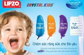 Toàn quốc: Quà tặng từ bàn chải LIPZO Crystal Kids