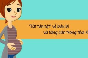 Tất tần tật về tăng cân trong thai kỳ mẹ bầu cần biết