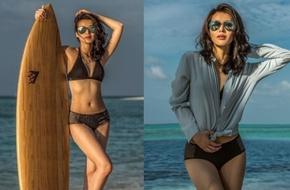 Hồ Hạnh Nhi tung ảnh bikini nóng bỏng kỷ niệm tuần trăng mật