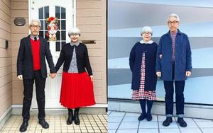 Ai cũng ước như cặp vợ chồng này, kết hôn 37 năm vẫn chăm mặc đồ đôi như ngày mới yêu
