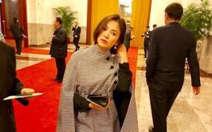 Đẳng cấp nhan sắc Song Hye Kyo, chụp trộm thôi mà vẫn xinh đẹp lộng lẫy