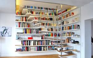 Những thiết kế tích hợp kệ sách với cầu thang vô cùng độc đáo
