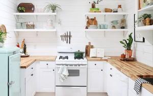 Ngắm căn bếp này sau cải tạo, nhiều người phải thốt lên
