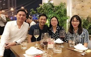 Cường Đô La đích thân về tận quê Đàm Thu Trang đón gia đình bạn gái vào Sài Gòn ăn Tết
