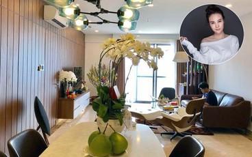 Ngắm căn hộ hạng sang với view ngắm Sài Gòn tuyệt đẹp của bạn gái Cường Đôla