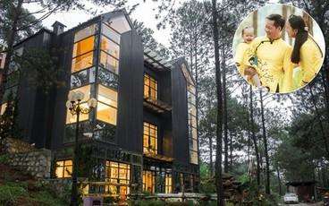 Biệt thự đẹp lãng mạn trên đồi thông ở Đà Lạt trị giá 25 tỷ đồng của siêu mẫu Phan Như Thảo và chồng đại gia