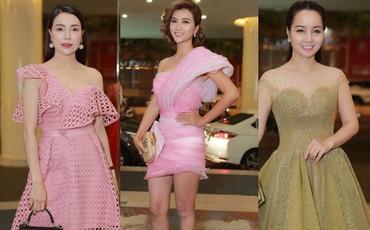 Trà Ngọc Hằng, Kim Tuyến, Mai Thu Huyền và dàn sao hội tụ tại đám cưới Vũ Ngọc Ánh - Anh Tài