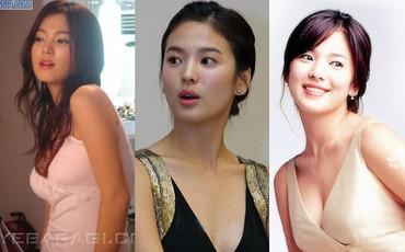Đâu phải bây giờ mới táo bạo, Song Hye Kyo từng có những khoảnh khắc khoe vòng 1 đầy đặn nóng bỏng thế này cơ mà