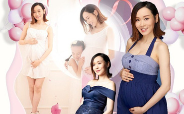 Trước ngày sinh nở, Hoa hậu Dương Tư Kỳ khoe nhan sắc tươi trẻ ở tuổi 42