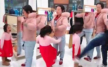 Đi chợ Tết, con gái 5 tuổi đánh mẹ vì không được mua món đồ yêu thích, cách