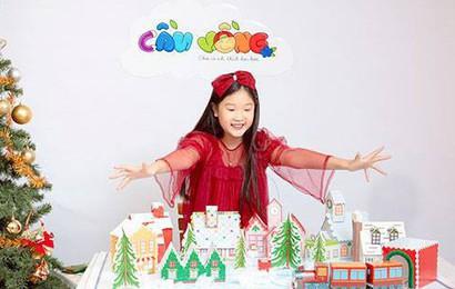 Ngôi làng Giáng Sinh - Mang không gian Giáng sinh vào căn nhà của bạn