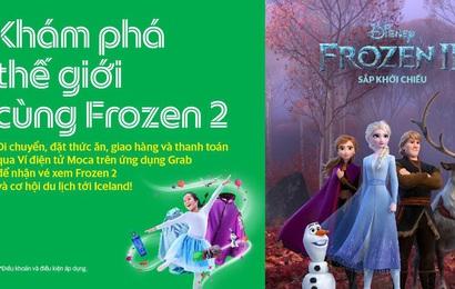Bố mẹ dùng Grab, bé yêu nhận ngay vé xem phim Frozen 2 và cơ hội khám phá băng đảo Iceland diệu kỳ