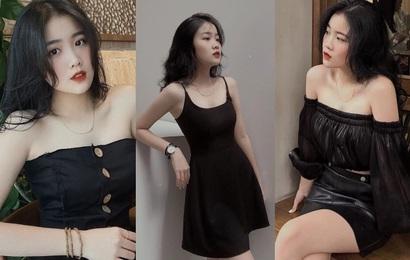 """Bạn gái của Văn Hậu: Tủ đồ toàn là màu đen, vóc dáng nhỏ nhưng chỉ dành """"chân ái"""" cho giày thể thao"""