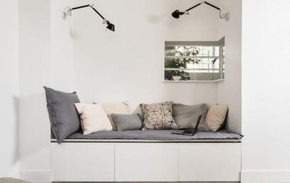 Những màu sơn nội thất giúp nới rộng không gian