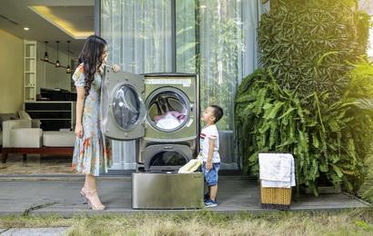 """5 lý do khiến các mẹ đảm mê mệt chiếc máy giặt vừa đạt giải """"Thương hiệu máy giặt xuất sắc 2019"""""""