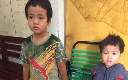 TPHCM: Bị bỏ rơi, hai bé trai 3 và 5 tuổi xách bịch đồ lang thang tìm bố mẹ lúc nửa đêm