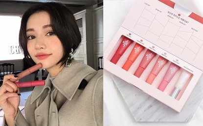 5 thỏi son kem lì giá chỉ khoảng 300.000 VNĐ được con gái Hàn tìm mua nhiều nhất vào mùa lạnh này