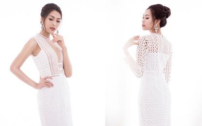 Mùa lễ hội thật nổi bật với những thiết kế váy ren trắng tinh khôi