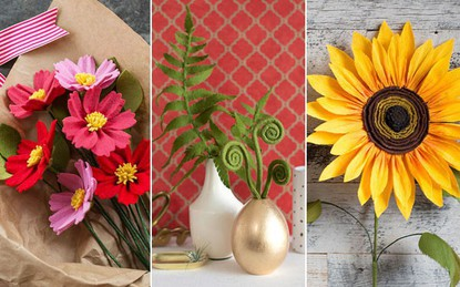 3 cách làm hoa từ vải dạ đơn giản mà cực đẹp