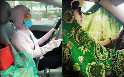 Không phải chạy theo mốt làm gì cho tốn tiền chị em ơi, diện đồ ninja lái ôtô mới là hot trend hè năm nay
